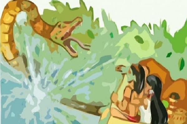 Origen de las cataratas de Iguazú