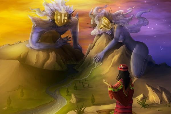 El Origen del Lago Titicaca