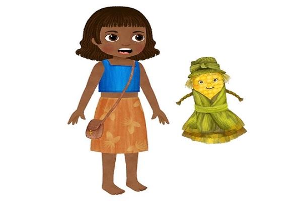 Tarahumara y su muñeca