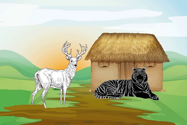 El Tigre Negro y el Ciervo Blanco