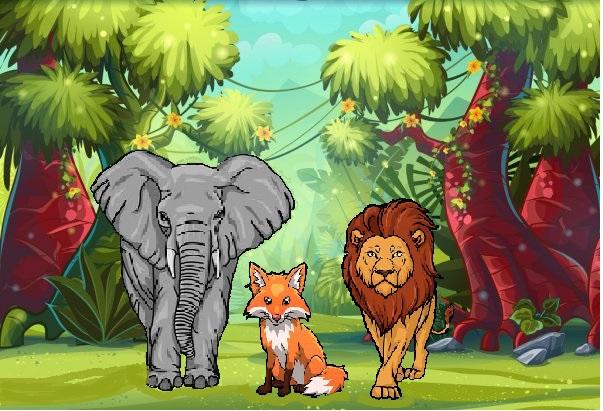 El león y su ejército